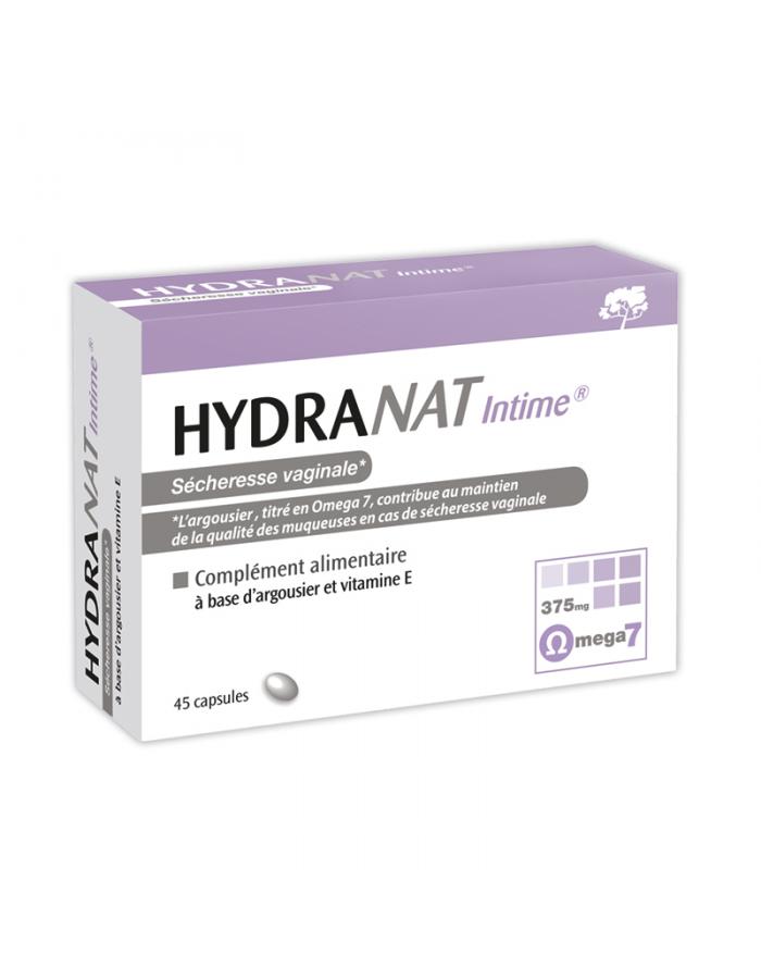 Laboratoire NaturAvignon - HydraNat intime femme à l'argousier et à la vitamine E pour lutter contre la sécheresse vaginale