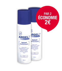 Laboratoire NaturAvignon - Fluide de massage Argel 7 en spray pour le massage, lot économique de 2
