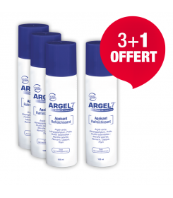 Laboratoire NaturAvignon - Fluide de massage Argel 7 en spray pour le massage, lot de 4, 3+1 offert