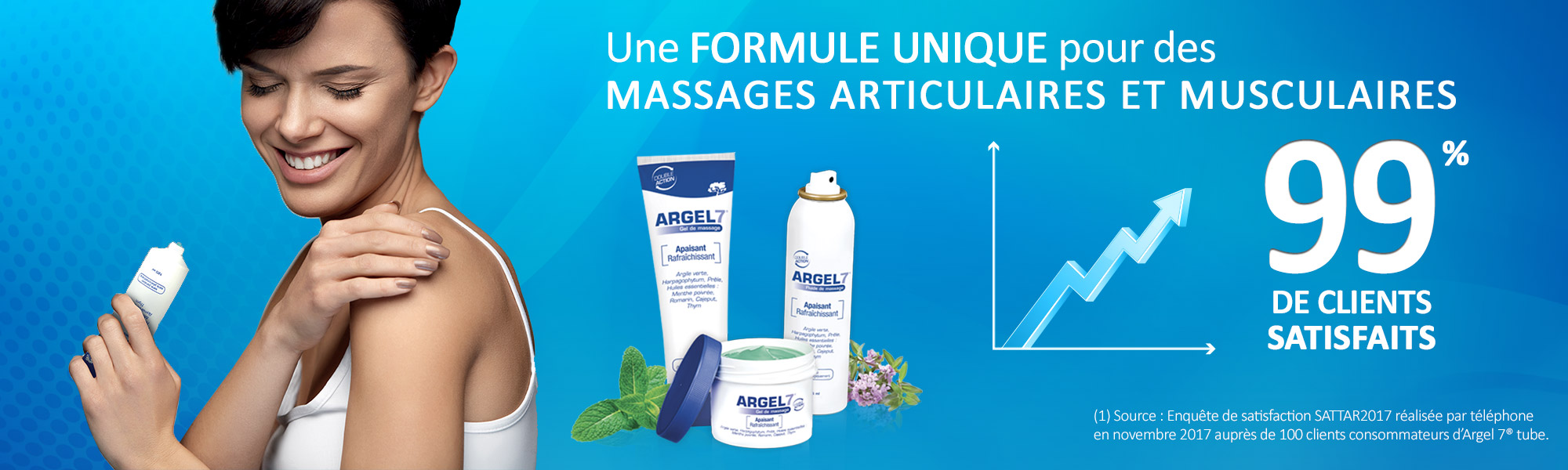 Laboratoire NaturAvignon - La gamme Argel 7 - satisfaction clients