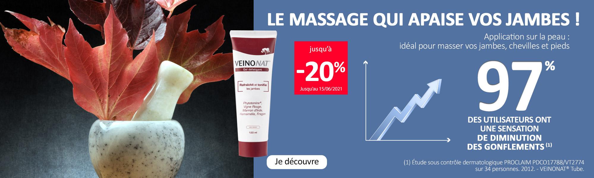 Le massage qui apaise vos jambes